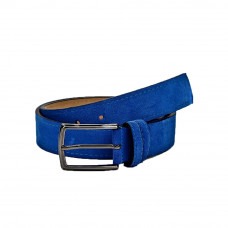 Шкіряний ремінь 6040 Синій