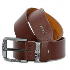 Кожаный ремень 5906 Темно-коричневый