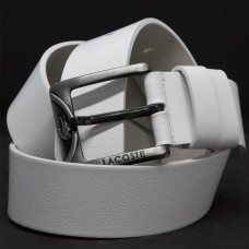 Кожаный ремень 5998 Белый