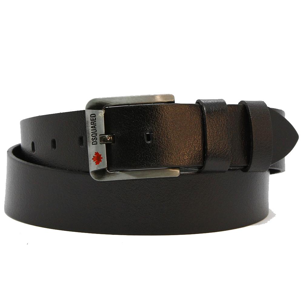 Кожаный ремень 60056 Черный 45мм
