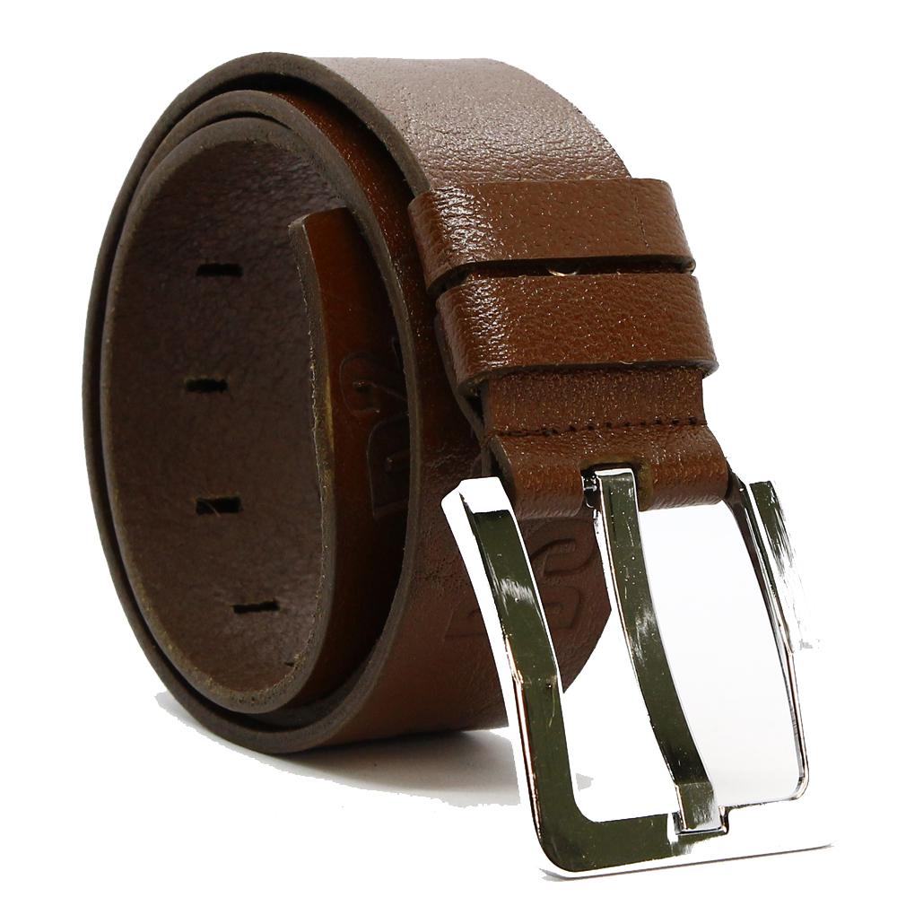 Кожаный ремень 6107 Темно-коричневый