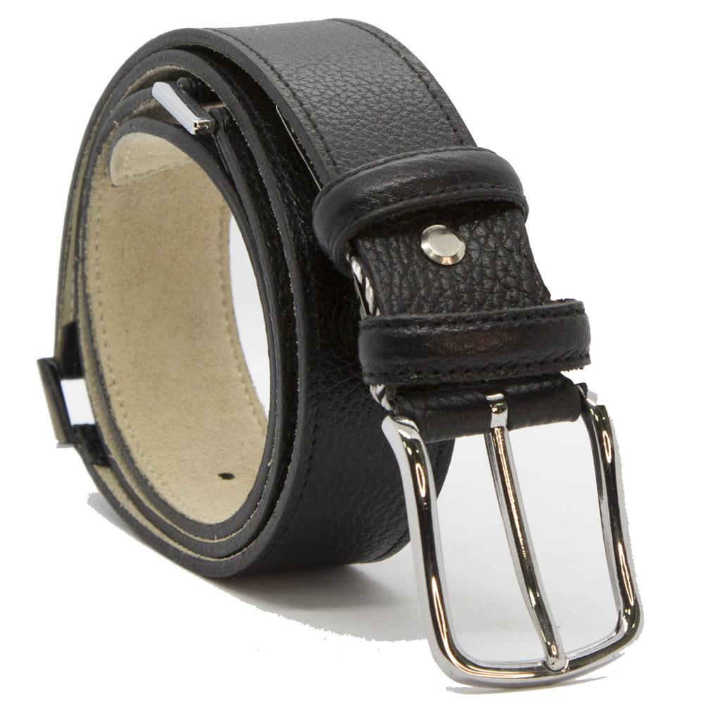 Кожаный ремень 6357 Черный