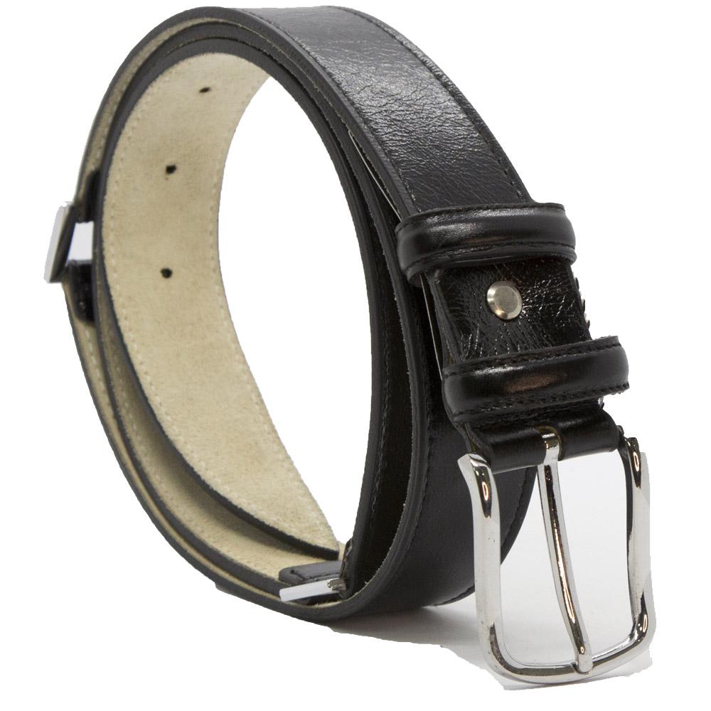 Кожаный ремень 6391 Черный