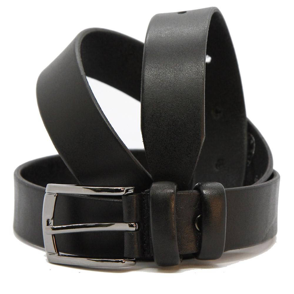 Кожаный ремень 6815 Черный