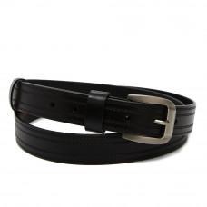 Кожаный ремень YZ3020-7459 Черный