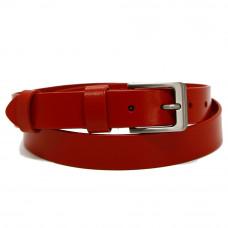 Кожаный ремень 7467 Красный
