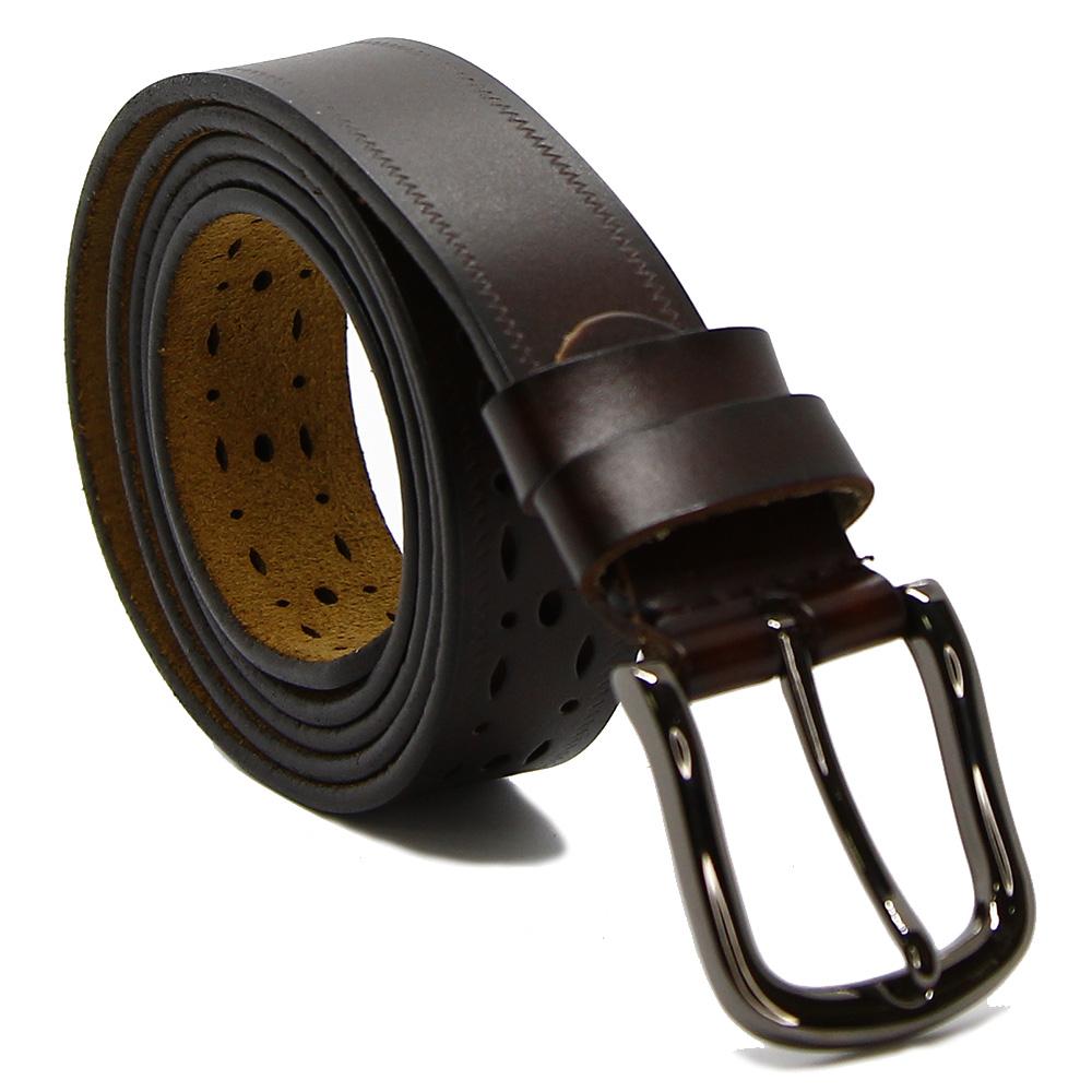 Ремень женский 7652 Темно-коричневый