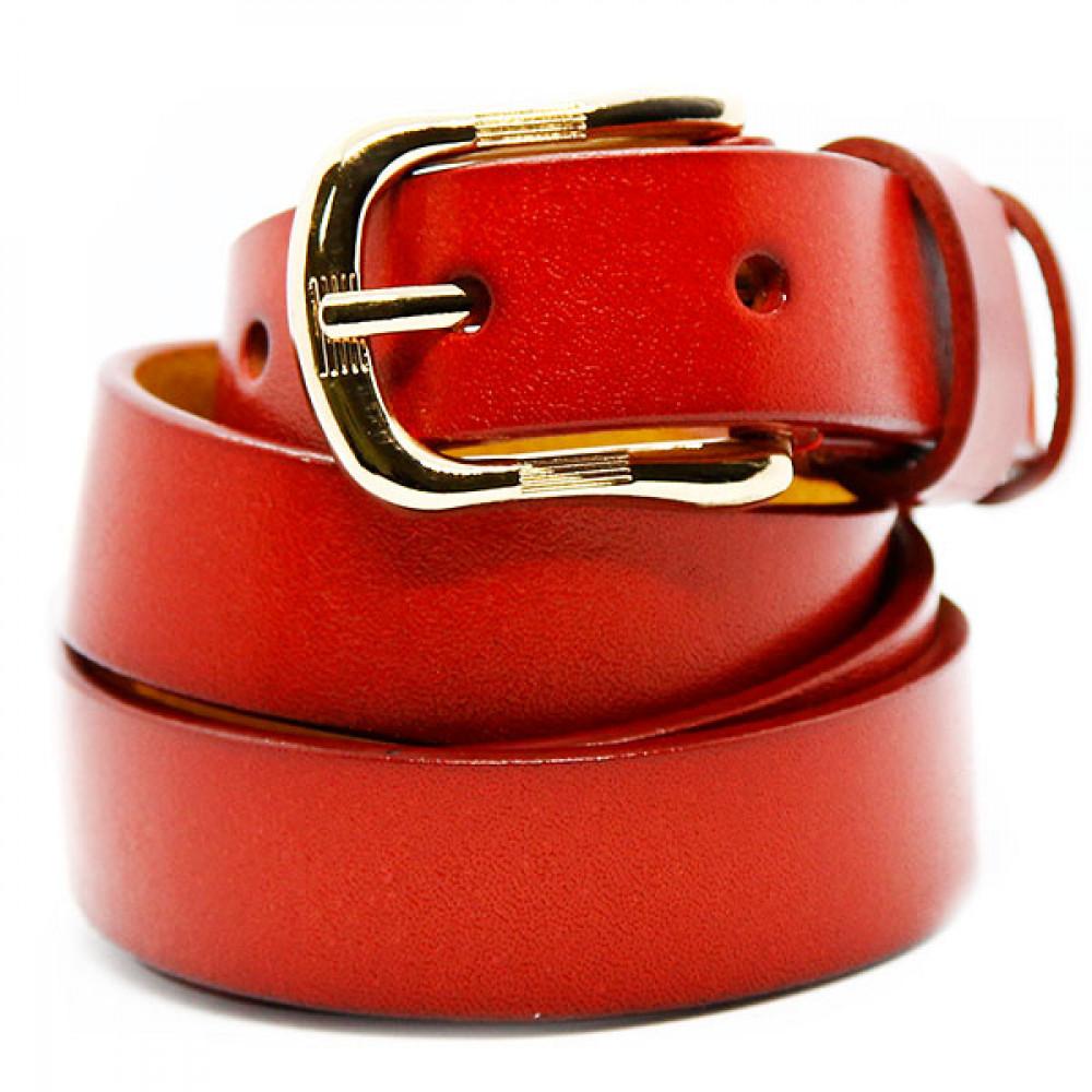 Кожаный ремень Красный wlc20re0044ocn