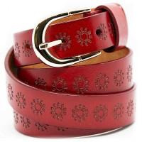 Кожаный ремень Красный wlc20re0045ocn