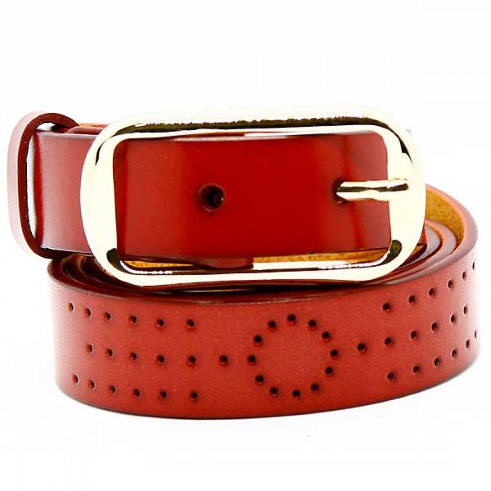 Кожаный ремень Красный wlc20re0047ocn