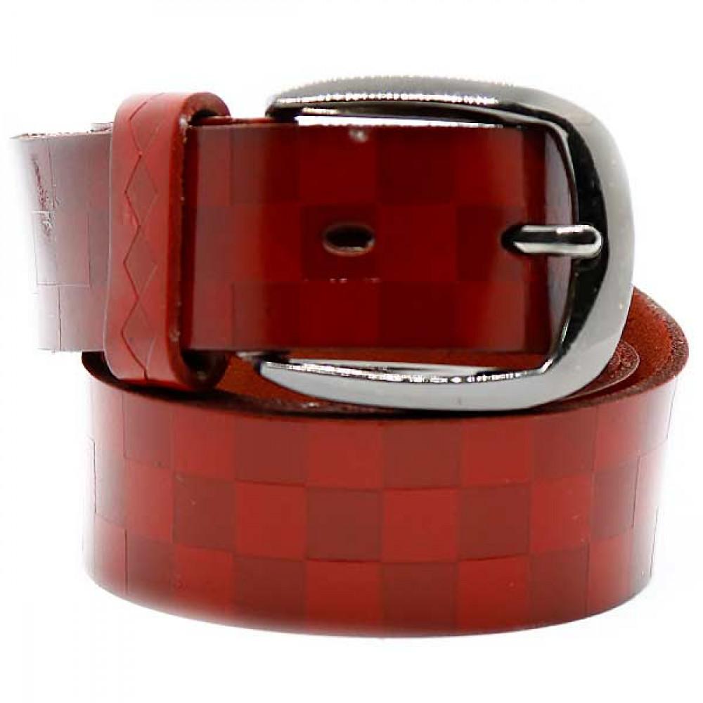 Кожаный ремень Красный wlc20re0051ocn